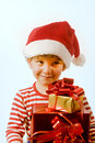 Free Boy And Presents Royalty Free Stock Images - 6735919