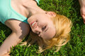 Free Woman Rest On The Grass Royalty Free Stock Photo - 6736015