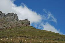 Free Table Mountain Royalty Free Stock Photos - 6730138