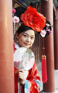 Free Classical Beauty In China. Stock Photography - 6731812