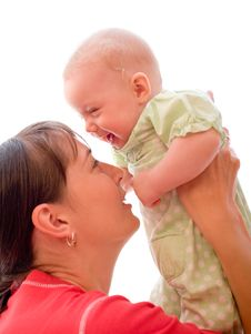 Free Baby With Mom Royalty Free Stock Photos - 6731848