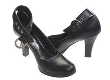 Women Black Shoe Royalty Free Stock Photo