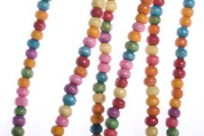 Free Colorful Beads Royalty Free Stock Photo - 6732185