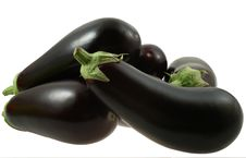 Free Aubergine On White Royalty Free Stock Photography - 6732337