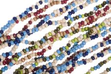 Free Colorful Beads Royalty Free Stock Photo - 6732825