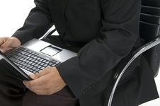 Free Male Hands Typing An A Laptop Close Up Stock Photo - 6732830