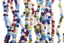 Free Colorful Beads Royalty Free Stock Images - 6732839