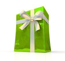 Free Green Fancy Box Stock Image - 6733261