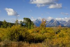 Free Grand Tetons Royalty Free Stock Image - 6733716