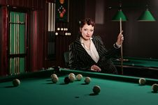 Free Billiards 1 Royalty Free Stock Photos - 6734268
