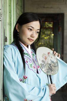 Free Retro Beauty In China. Stock Photography - 6734572
