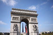 Free Arc De Triomphe Stock Photos - 6734943