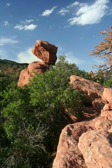 Free Balanced Rock Stock Photos - 6734983