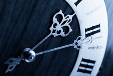 Free Antique Clock Dial Royalty Free Stock Image - 6735136