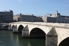 Free Pont Royal Bridge, Paris Stock Photography - 6735262