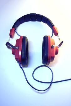 Free Retro Headphones Stock Photos - 6735323