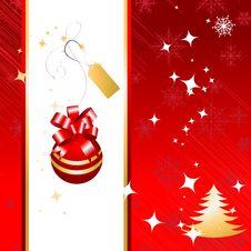 Free Christmas Background Royalty Free Stock Photo - 6735395