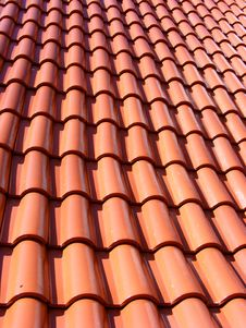 Free Tile-roof Royalty Free Stock Image - 6736096