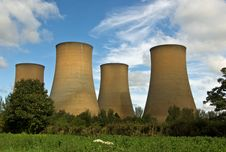 Free Power Station Stock Image - 6736111