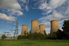 Free Power Station View Royalty Free Stock Photos - 6736138