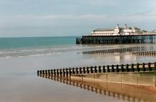 Free Hastings Pier Royalty Free Stock Photos - 6736818