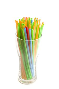 Free Multicolored Straws Royalty Free Stock Images - 6736869