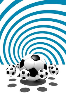 Free Soccer Balls Stock Images - 6737214