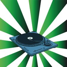 Free Turntable Royalty Free Stock Photography - 6737227