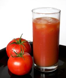Free A Glass Of Tomato Juice Stock Images - 6737594