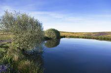 Small Lake Stock Image