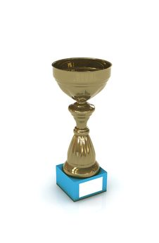 Free Golden Trophy Royalty Free Stock Photography - 6738147