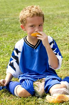 Free Halftime Snack Royalty Free Stock Images - 6738169