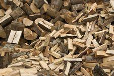 Free Firewood Stack Royalty Free Stock Image - 6738416