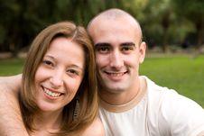 Free Beautiful Young Couple Stock Photos - 6738633