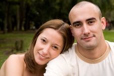 Free Beautiful Young Couple Stock Photography - 6738652
