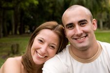 Free Beautiful Young Couple Royalty Free Stock Images - 6738679