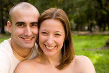 Free Beautiful Young Couple Stock Image - 6738681