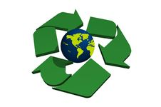 Free Abstract Recycle Symbol Stock Photography - 6739202