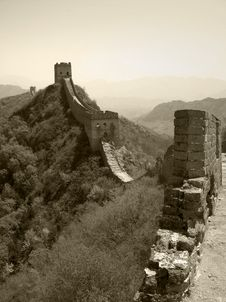 Free Great Wall Royalty Free Stock Photography - 6739587