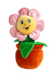 Free Flower Toy On The White Background Royalty Free Stock Photo - 6739865