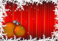 Free Red Striped Christmas Background With Snowflakes Stock Image - 6741591