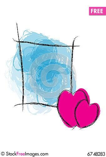 Free Hearty Greeting - Vector Stock Photos - 6748283