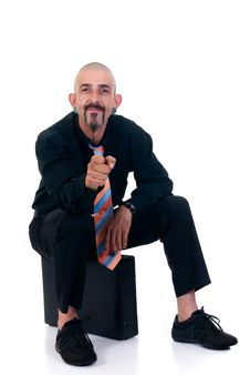 Free Alternative Businessman Stock Photo - 6740120
