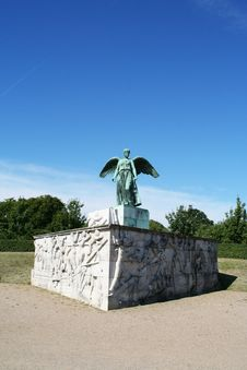 Free Statue In Copenhagen Stock Image - 6740181
