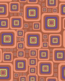 Free Stylish Square Background Royalty Free Stock Photography - 6740347
