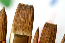 Free Paintbrush Royalty Free Stock Photography - 6740637