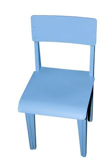 Free Blue Chair. Royalty Free Stock Photography - 6740717