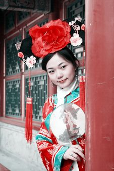 Free Classical Beauty In China. Royalty Free Stock Photography - 6740897