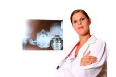Free Young Female Doctor Stock Images - 6740954