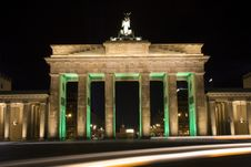 Free Berlin Brandenburger Tor Royalty Free Stock Image - 6741066